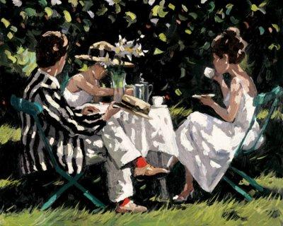 英国Sherree Valentine Daines人物油画作品欣赏