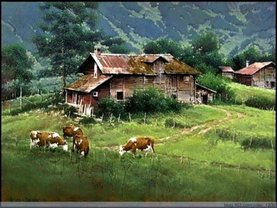 美国Bruce Cheever风景油画作品欣赏