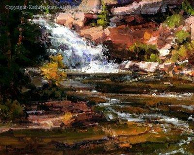 美国Kathryn Stats风景油画作品欣赏