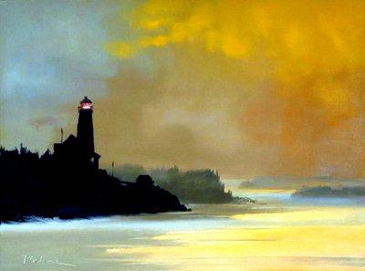 美国Paul Stone风景油画作品欣赏
