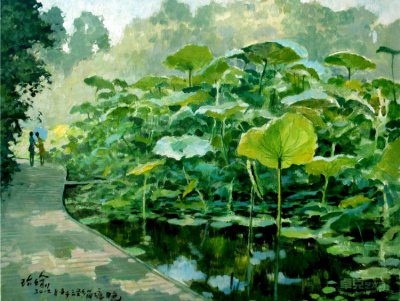 高阶瑜风景油画作品欣赏