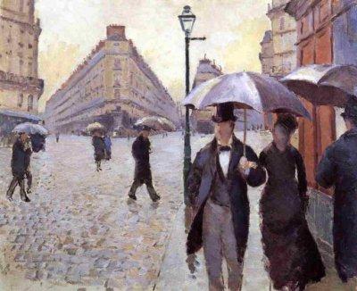 法国印象派画家居斯塔夫·卡耶博特(Gustave Caillebotte)油画作品欣赏