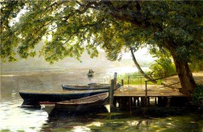 美国Christian Zacho风景油画作品欣赏