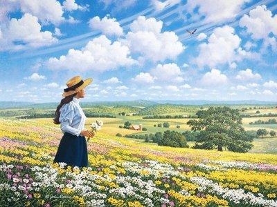 美国约翰·斯隆(John Sloan)风景油画作品欣赏