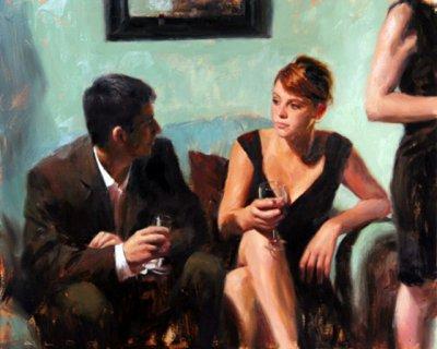 英国Aldo Balding人物油画作品欣赏