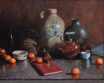 美国Matthew J Cutter静物油画作品欣赏