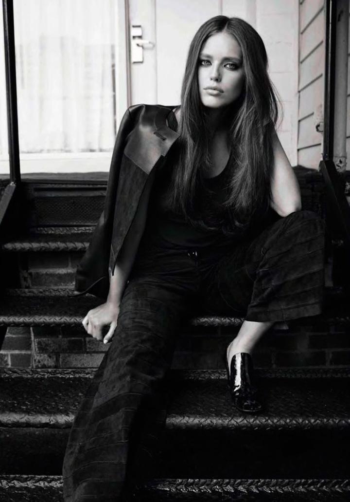 Emily DiDonato《Glamour》西班牙版2015年9月号