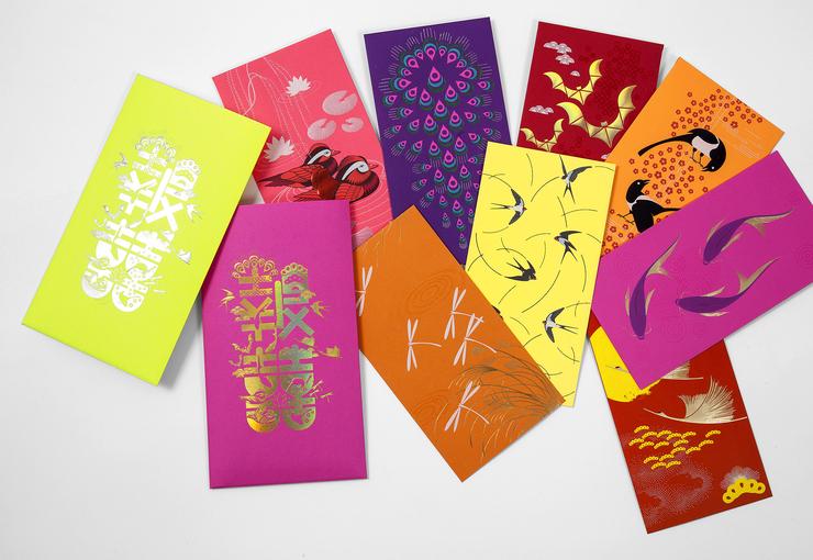 2015最文艺的红包信封平面设计作品