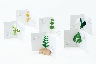 Botanical Life创意台历设计