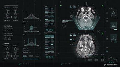 复仇者联盟2 的人机界面的超酷平面设计欣赏