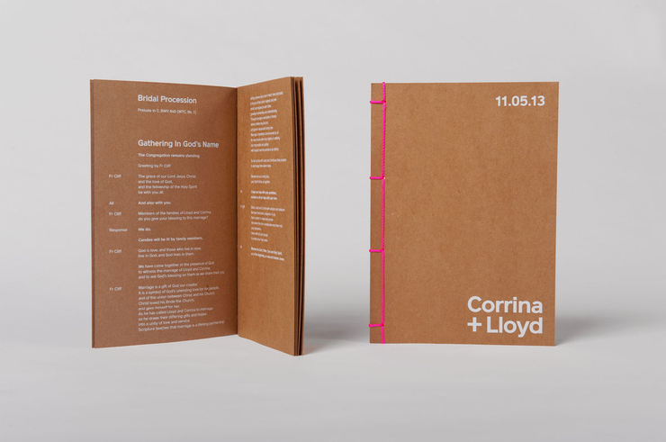 Lloyd & Corrina 婚礼邀请函设计