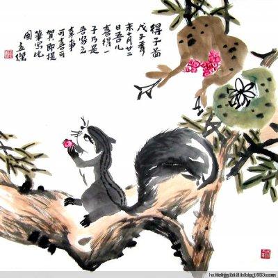 刘立杰国画花鸟作品(二)