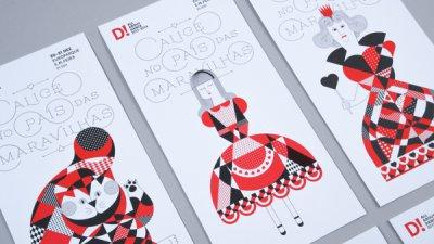 Alice no País das Maravilhas品牌形象设计