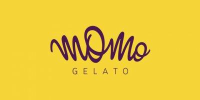 多彩的Momo Gelato冰淇淋店品牌VI设计