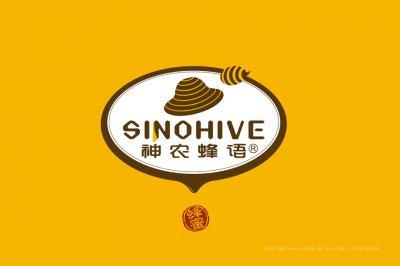 神农蜂语品牌设计
