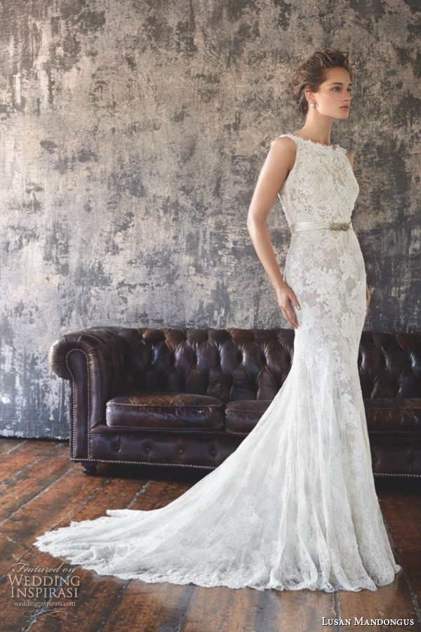 Lusan Mandongus 2016婚纱系列