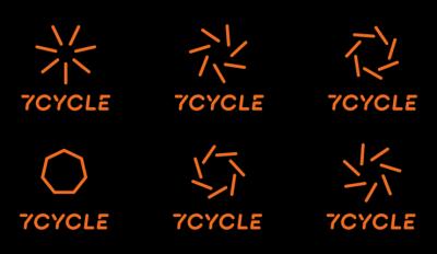 7Cycle室内单车工作室视觉形象VI设计