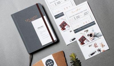 THE VAN CAFETERIA 咖啡馆VI视觉设计