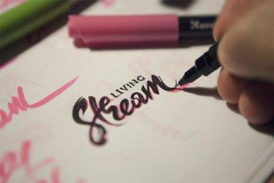 手绘logo设计