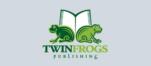 以青蛙为元素的Logo设计 2