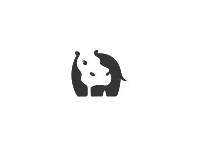 logo设计元素运用实例:河马