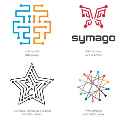 2015年LOGO设计趋势图