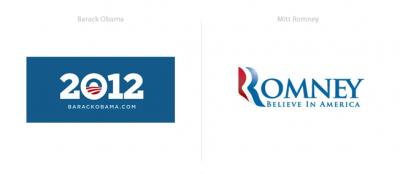 美国总统竞选Logo设计作品