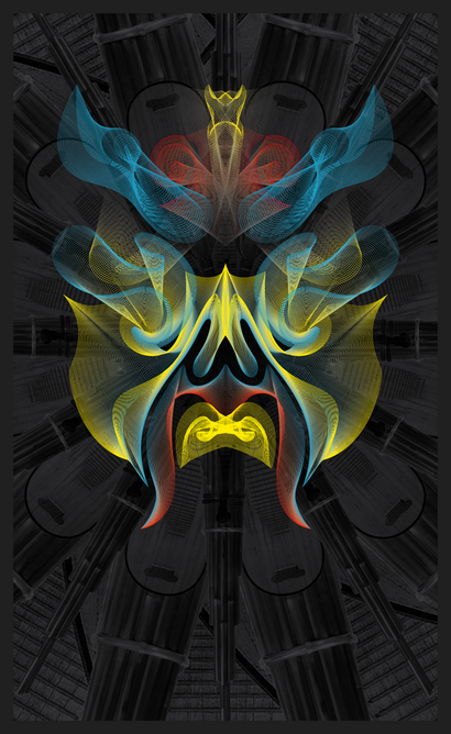 混搭设计:当电子音乐遇上中国戏曲海报设计