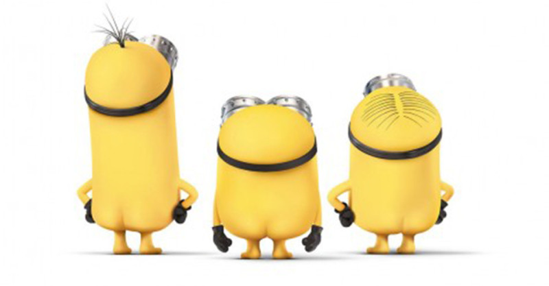 小黄人 Minions电影海报设计