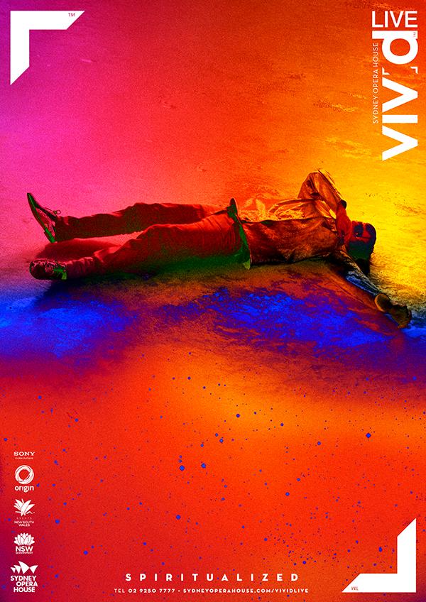 Vivid 艺术节海报设计