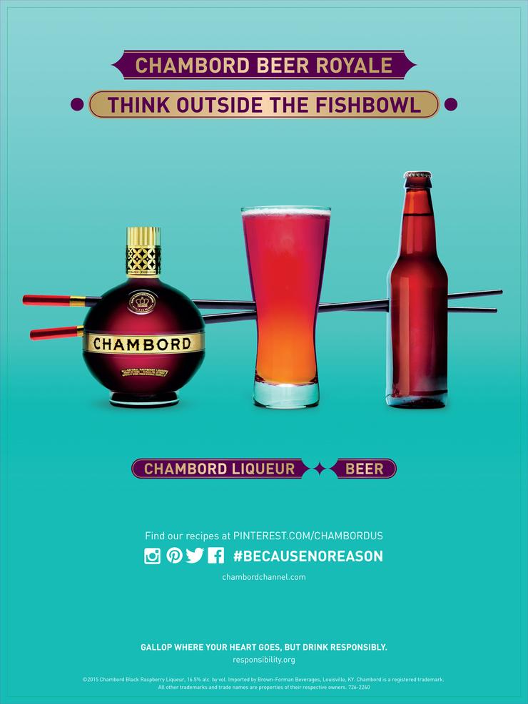 Leila Nichols 洋酒摄影海报设计作品