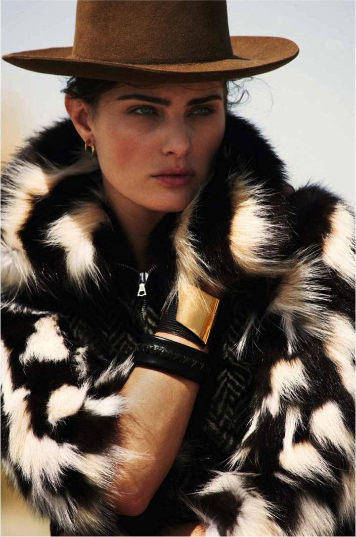 Isabeli Fontana《Elle》法国版2015年8月号
