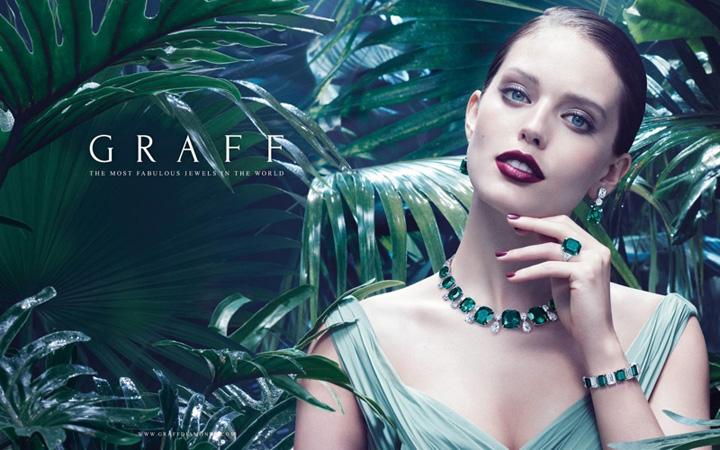 Graff Diamonds 2015珠宝广告大片
