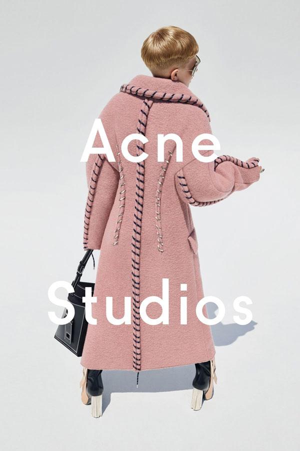 Acne Studio 2015秋冬广告大片曝光