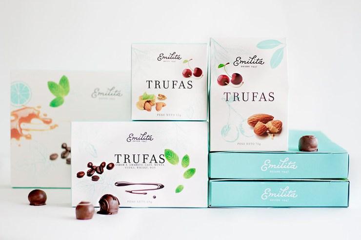 蒂凡尼蓝超美巧克力包装