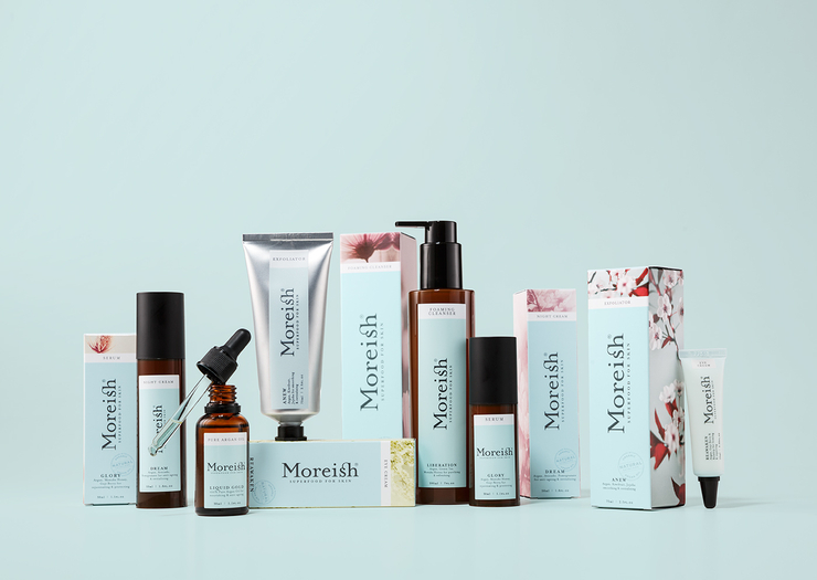 Moreish Skincare 高端化妆品护肤品包装设计