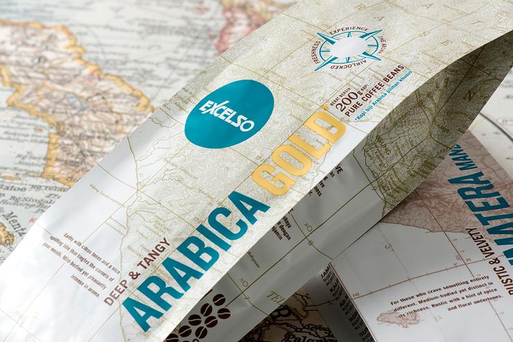 Excelso Single咖啡包装设计