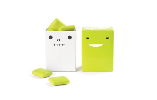Guggle Bum 小清新的口香糖包装设计欣赏