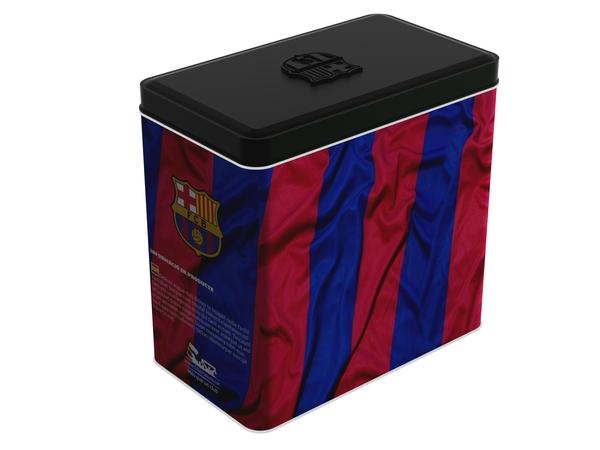 球迷大爱的巴塞罗那足球俱乐部咖啡包装设计作品