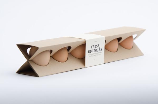 极力推荐的环保鸡蛋包装设计欣赏