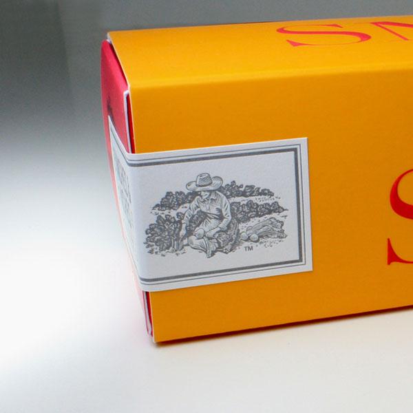 Bunches & Bunches Snaps包装盒的包装设计作品