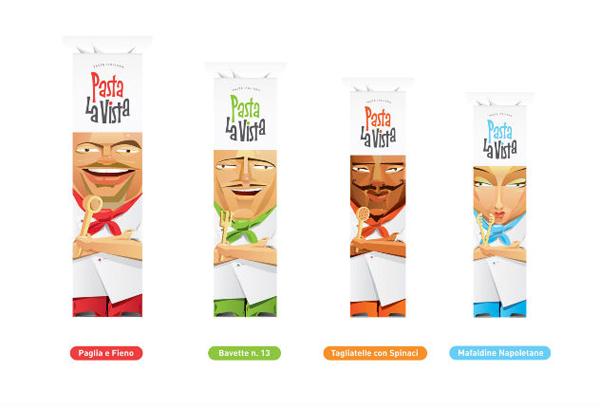 Pasta la vista意大利通心粉创意包装设计作品