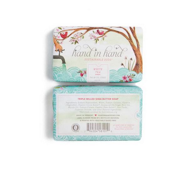 Hand in Hand 很温馨的香皂包装设计作品