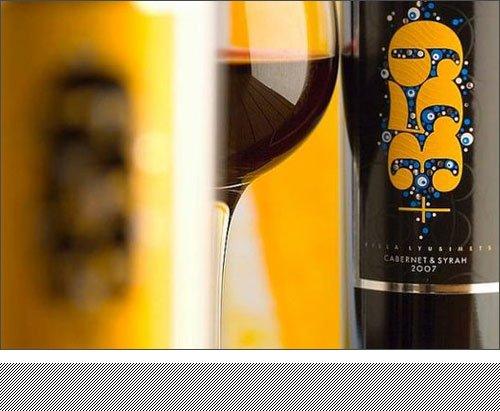 金黄色保加利亚特色+359葡萄酒包装设计作品欣赏