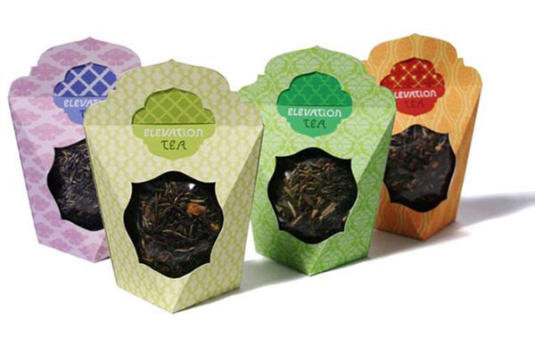 国外咖啡和茶叶创意包装设计欣赏