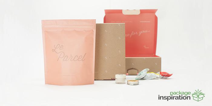 Le Parcel素雅包装设计欣赏