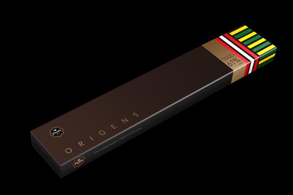 Origens巧克力包装设计