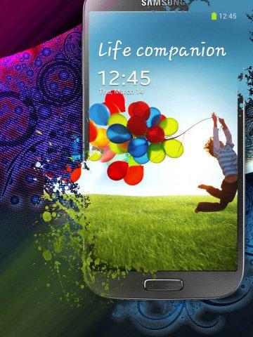 三星Galaxy S4宣传海报设计