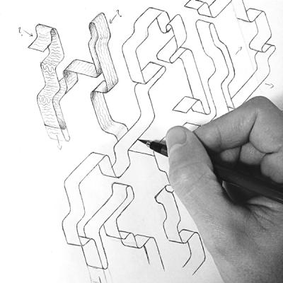 Enisaurus手绘字体海报