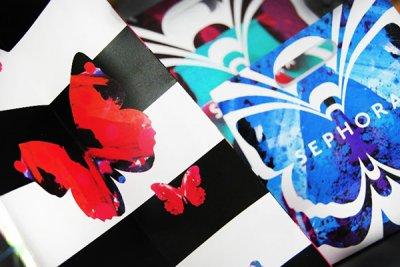 创意漂亮的海报设计《SEPHORA - 蝴蝶活动》